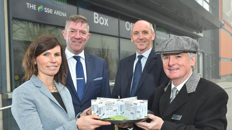 The SSE Arena, Belfast launches a new Titanic Partnership